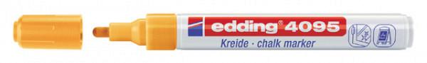 Krijtstift edding 4095 rond neon oranje 2-3mm