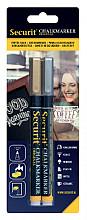 Krijtstift Securit SMA-100 rond 1-2mm goud/zilver assorti