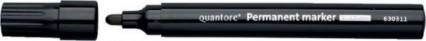 Permanent marker Quantore rond 1-1.5mm zwart