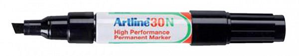 Viltstift Artline 30 schuin 2-5mm zwart