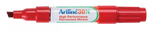 Viltstift Artline 30 schuin 2-5mm rood