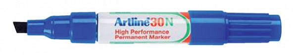 Viltstift Artline 30 schuin 2-5mm blauw