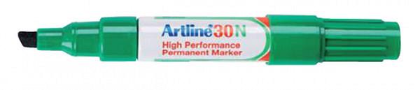 Viltstift Artline 30 schuin 2-5mm groen