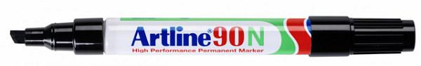 Viltstift Artline 90 schuin 2-5mm zwart