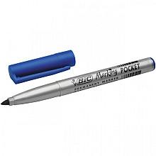 Viltstift Bic 1445 pocket rond blauw 1.1mm