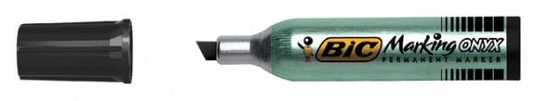 Viltstift Bic 1481 Onyx beitel 2-6mm zwart