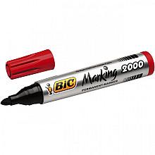 Viltstift Bic 2000 rond rood 1.7mm