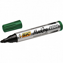 Viltstift Bic 2000 rond groen 1.7mm