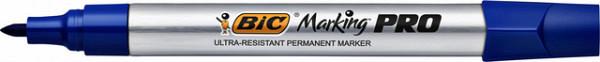 Viltstift Bic Pro 1mm permanent blauw