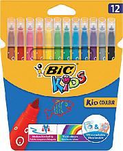 Kleurstift Bic Kids Ecolutions Visacolor XL ass medium etui à 12st