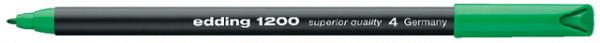 Fineliner edding 1200 groen 0.5-1mm