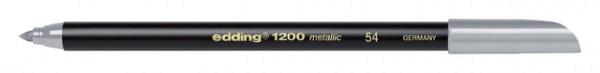 Fineliner edding 1200 zilver 1mm