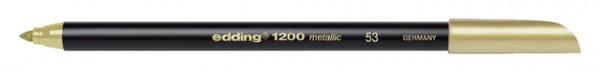 Fineliner edding 1200 goud 1mm