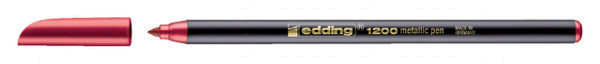 Fineliner edding 1200 metallic rood 1mm