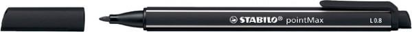 Viltstift STABILO pointmax 488/46 zwart