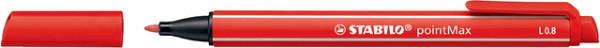Viltstift STABILO pointmax 488/48 karmijn rood