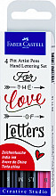 Tekenstift Faber Castell Pitt Artist handlettering love
