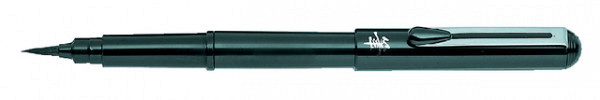 Pocketbrush Pentel XGFKP/FP10 zwart incl. 2 patronen