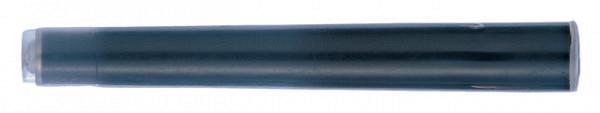 Inktpatroon Pentel tbv pocketbrush FP10 zwart set à 4 stuks