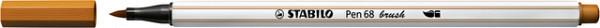 Brushstift STABILO Pen 568/89 donker oker
