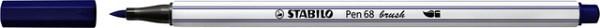 Brushstift STABILO Pen 568/22 pruissisch blauw