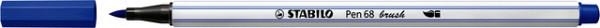 Brushstift STABILO Pen 568/32 ultramarijn blauw