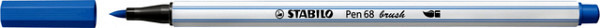 Brushstift STABILO Pen 568/41 donkerblauw