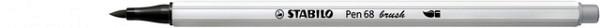 Brushstift STABILO Pen 568/95 koud grijs