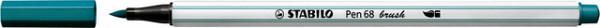 Brushstift STABILO Pen 568/51 turquoise blauw