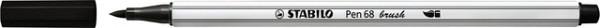 Brushstift STABILO Pen 568/46 zwart