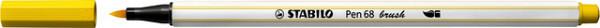 Brushstift STABILO Pen 568/44 geel