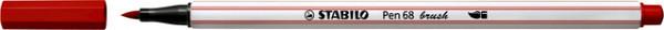 Brushstift STABILO Pen 568/48 karmijn rood