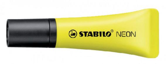 Markeerstift STABILO 72/24 neon geel