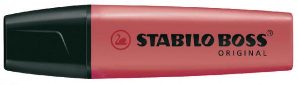 Markeerstift STABILO Boss Original 70/40 rood