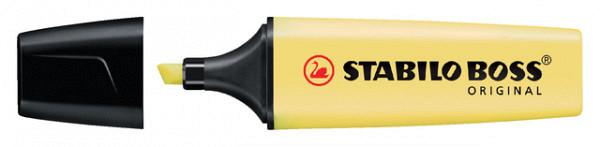 Markeerstift STABILO Boss Original 70/144 pastel geel