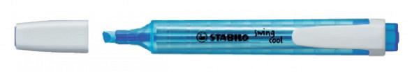 Markeerstift STABILO Swing Cool 275/31 blauw