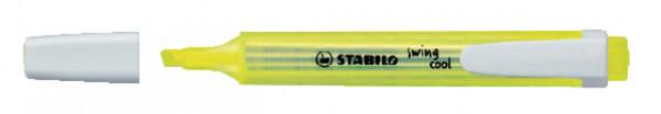 Markeerstift STABILO Swing Cool 275/24 geel