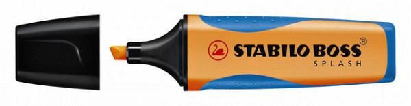 Markeerstift STABILO Boss Splash 75/54 oranje