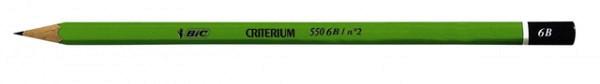 Potlood Bic Criterium 550 6B