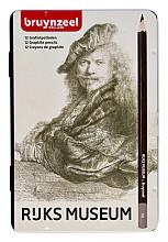 Potloden Bruynzeel Rembrandt diverse hardheden blik à 12 stuks
