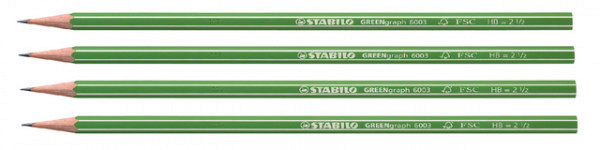 Potlood STABILO Greengraph 6003 HB