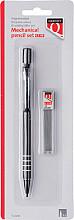 Vulpotlood Quantore 0.5mm + koker met 12 potloodstift