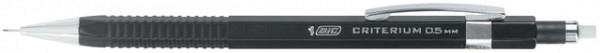 Vulpotlood Bic Criterium 0.5mm met gum metalen clip
