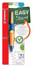Vulpotlood STABILO Easyergo 1.4mm linkshandig ultramarine/neon oranje blister