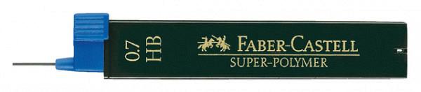 Potloodstift Faber Castell 0.7mm HB 12stuks