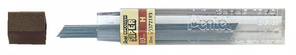 Potloodstift Pentel 0.3mm zwart per koker H