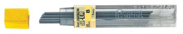Potloodstift Pentel 0.9mm zwart per koker B