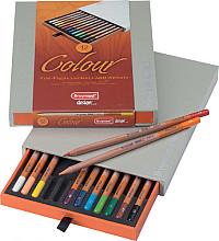 Kleurpotloden Bruynzeel Colour box 12stuks assorti