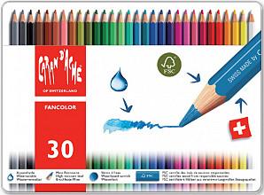 Kleurpotloden Caran d'Ache Fancolor 30stuks assorti