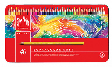 Kleurpotloden Caran d'Ache Supracolor 40stuks assorti